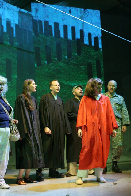 Lisa Scola Prosek's Trap Door with Bianca Showalter, Maria Mikheyenko, James McGoff Mark Hernandez, and Clifton Romig