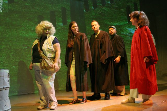 Lisa Scola Prosek's Trap Door with Bianca Showalter, Maria Mikheyenko, James McGoff Mark Hernandez, and Clifton Romig